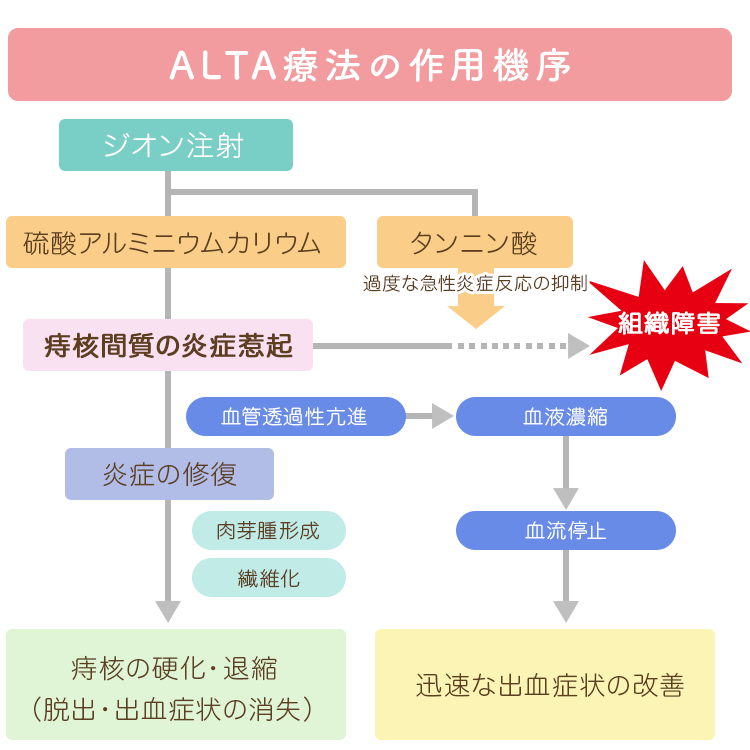 ALTA療法の作用機序